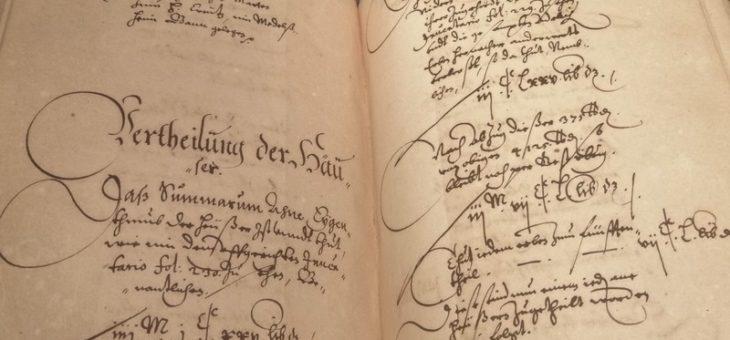 1625 L'héritage de Hans-Caspar de Rathsamhausen